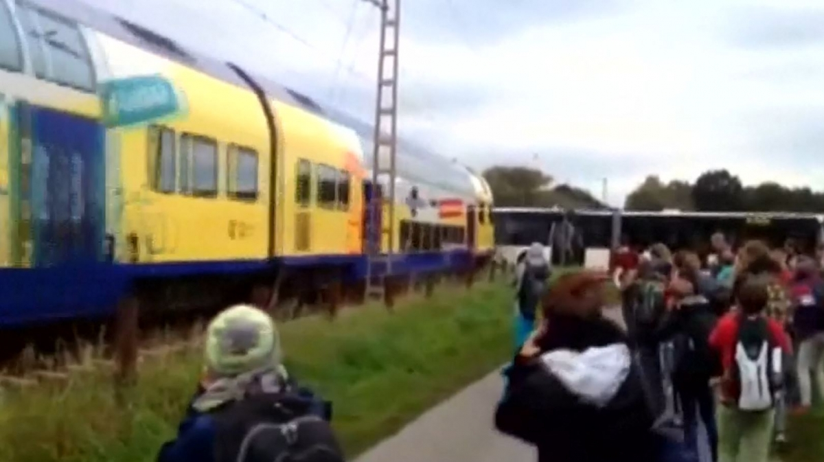 train school bus germany