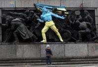 Russia Ukrainian graffiti