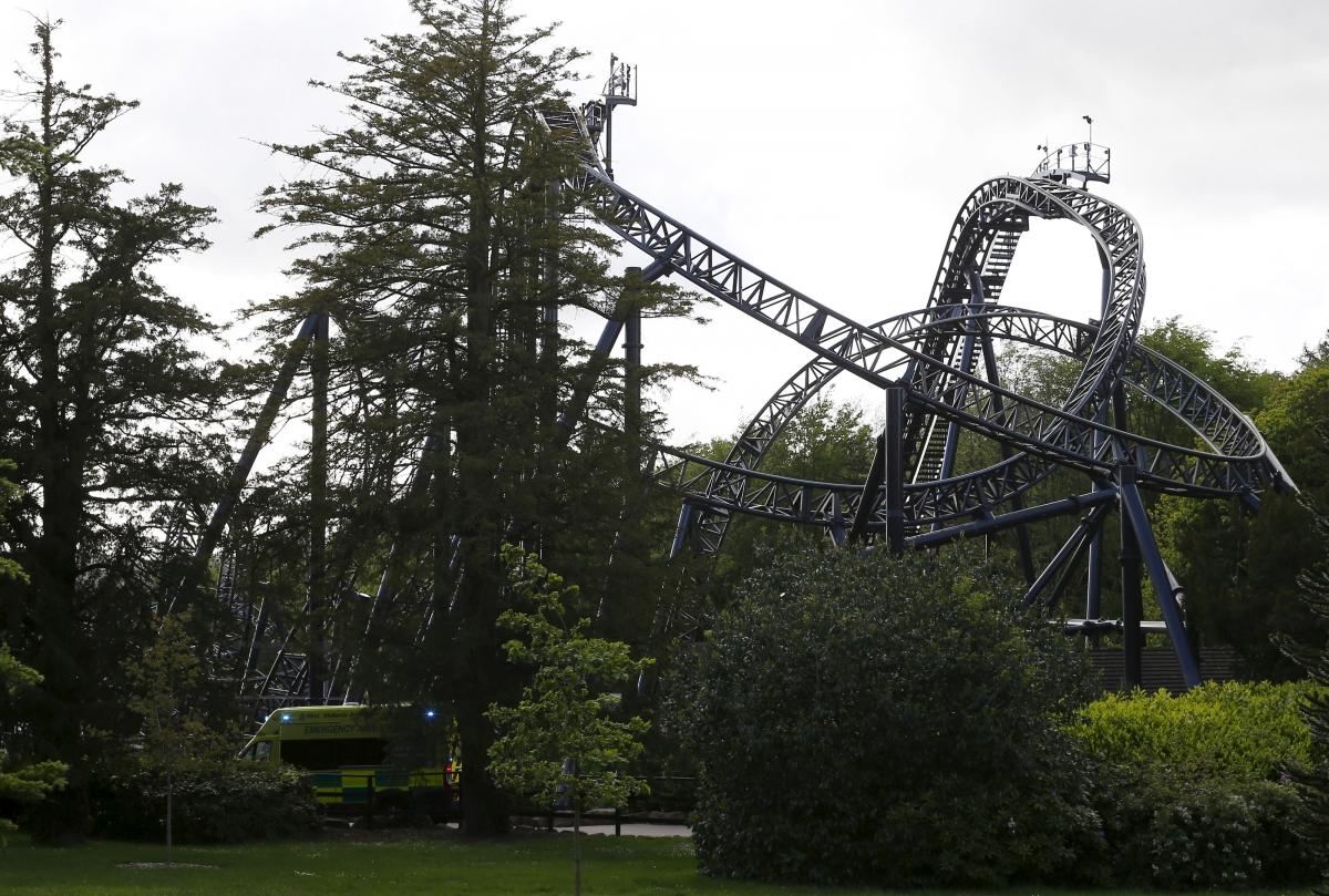 Smiler Rollercoaster