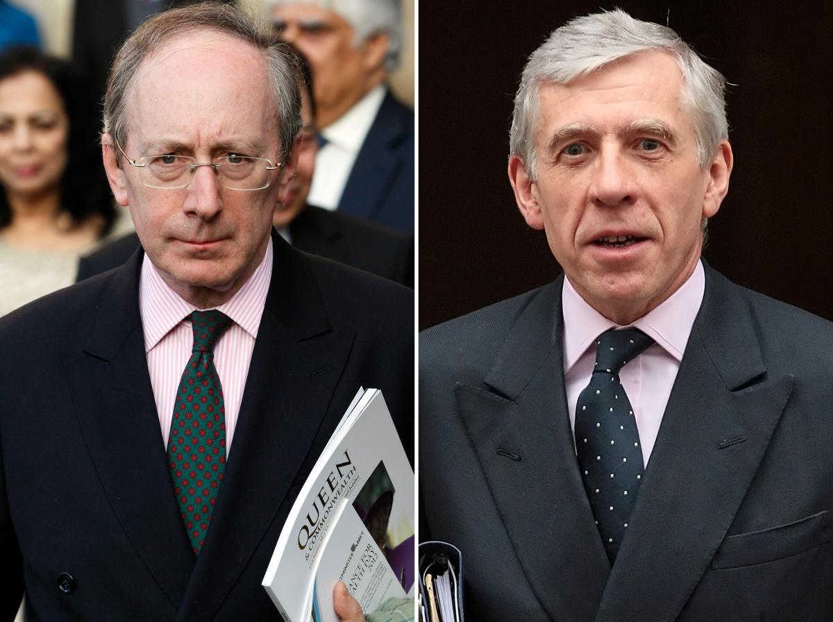 Sir Malcolm Rifkind and Jack Straw