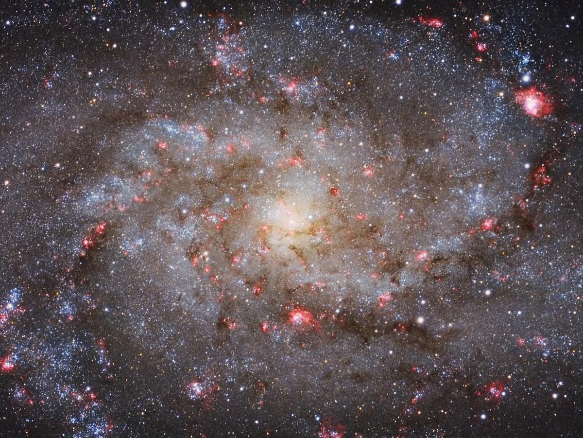 M33 Core Michael van Doorn
