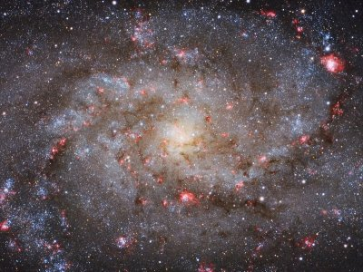 M33 Core Michael van Doorn