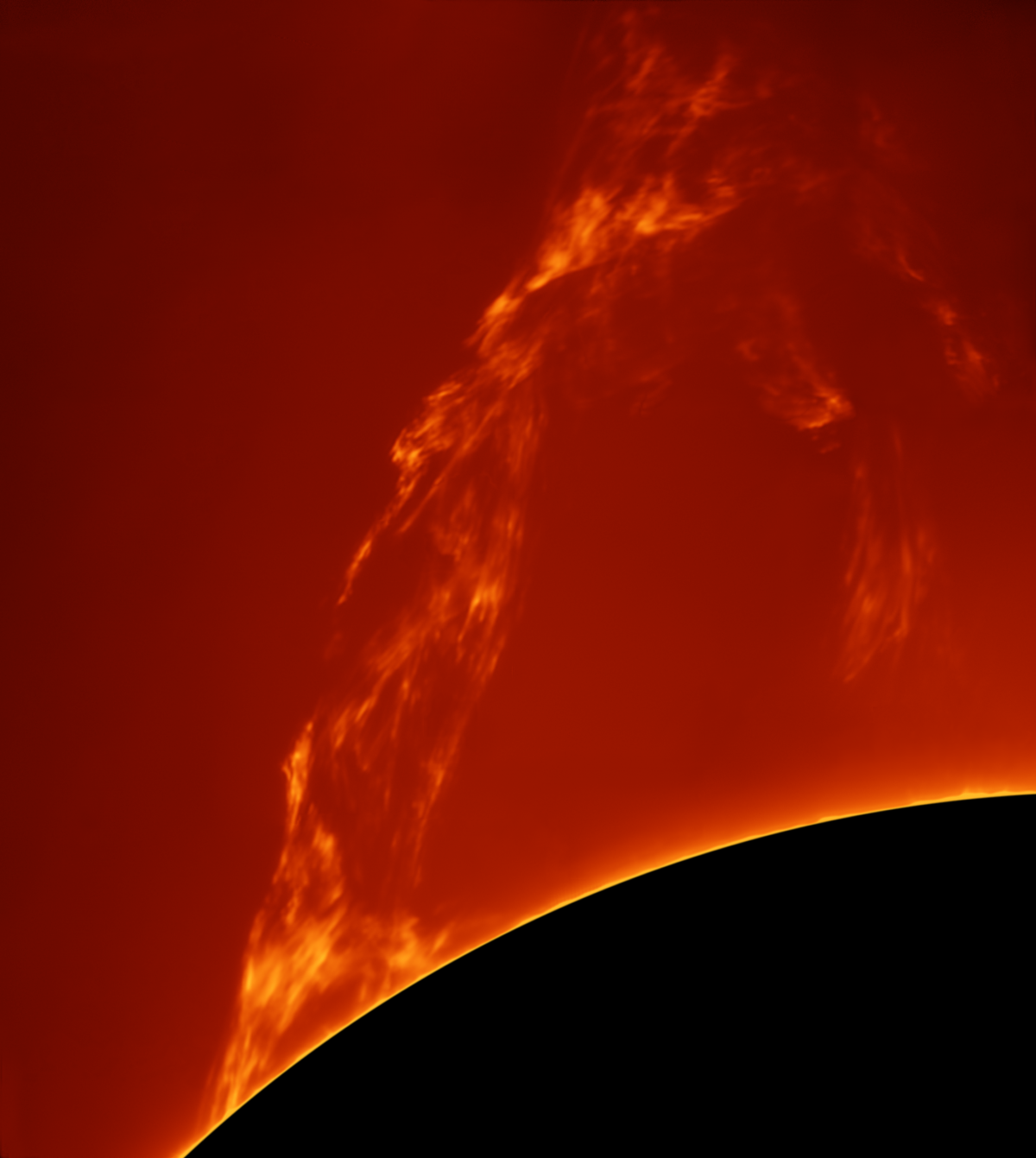 Huge Prominence Lift-off