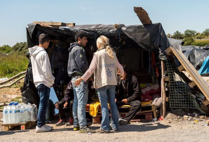 Volunteers in Calais