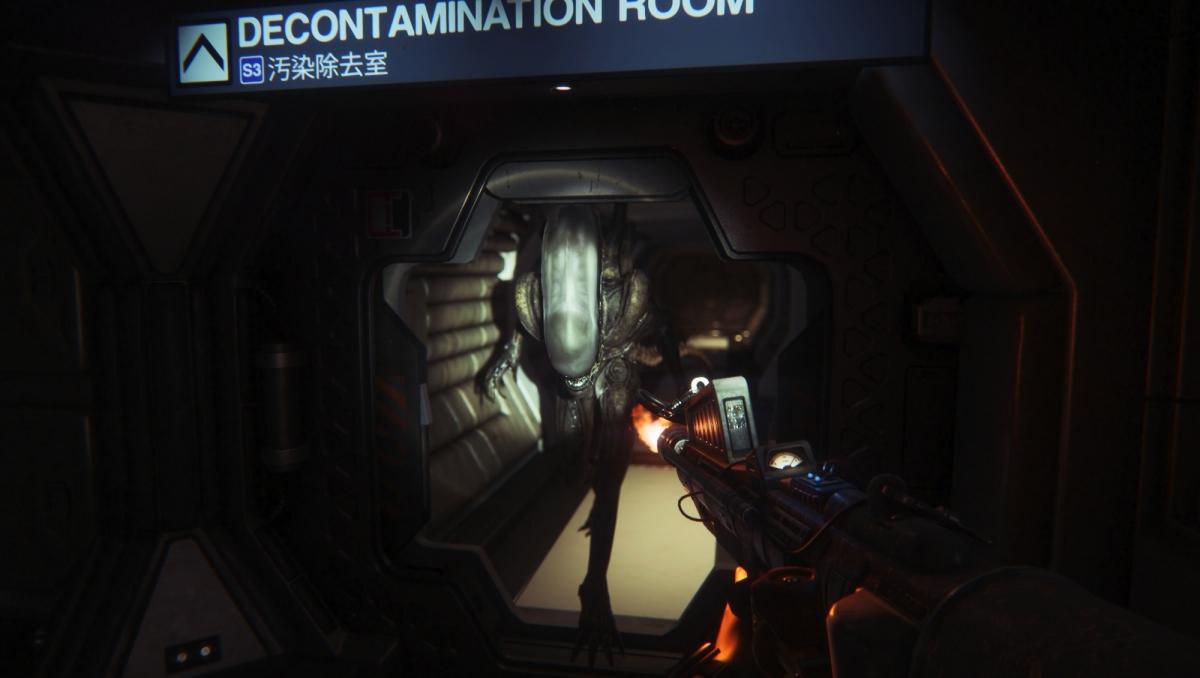 Alien Isolation Flamethrower