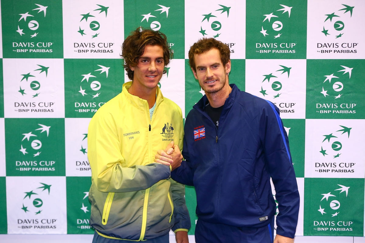 Andy Murray Thanasi Kokkinakis