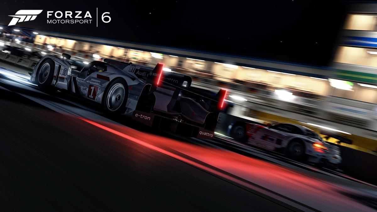 Night racing in Forza Motorsport 6