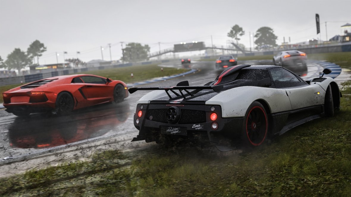 Wet racing in Forza 6