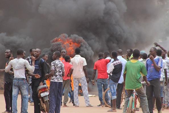 Ouagadougou protest coup Burkina Faso