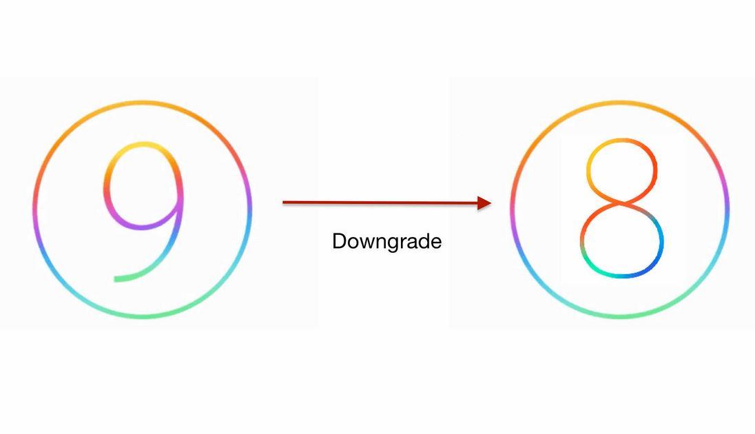 iOS 9 downgrade