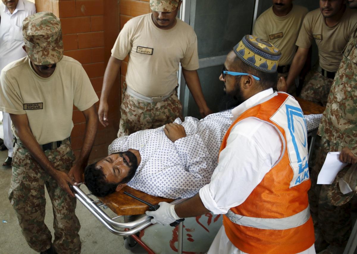 Pakistani Taliban attack