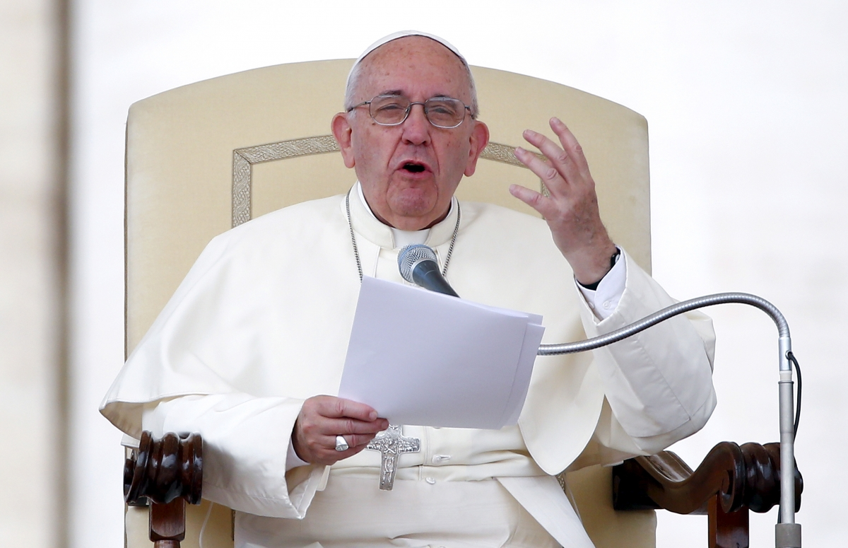 Pope Francis Syrian refugees