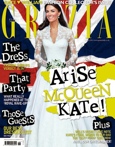Grazia Royal Wedding Issue