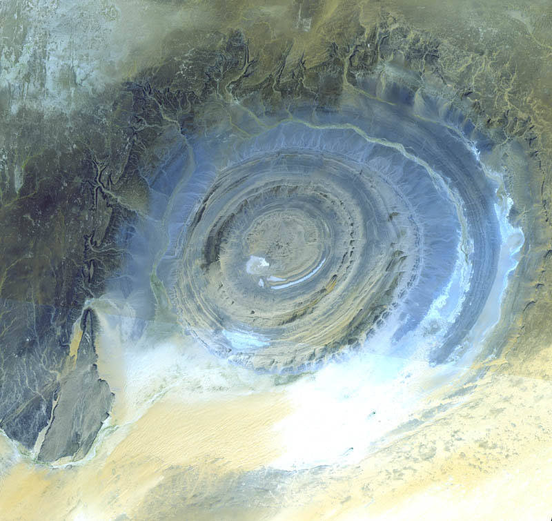 The Eye of the Sahara