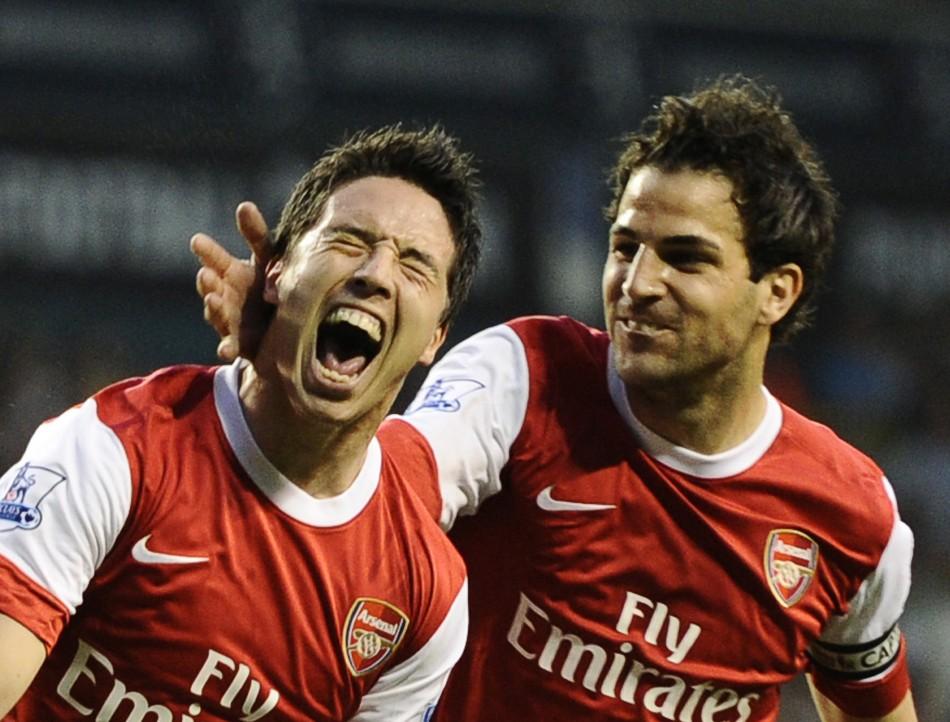 Nasri and Fabregas
