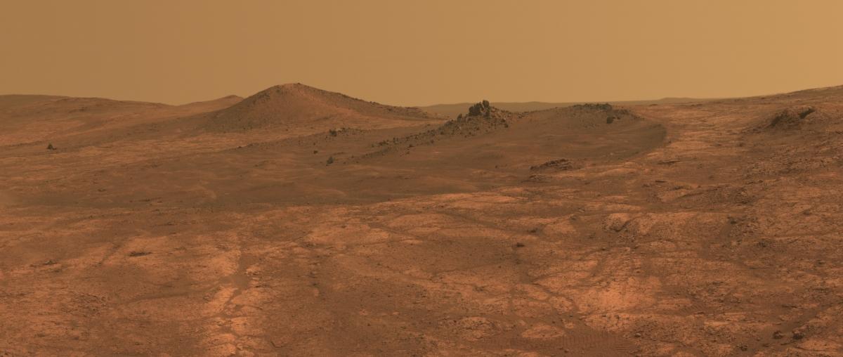 Spirit of St. Louis Crater on Mars