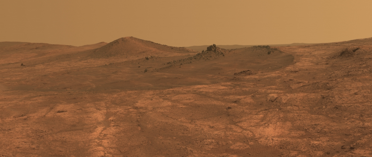 Spirit of St. Louis Crater on Mars