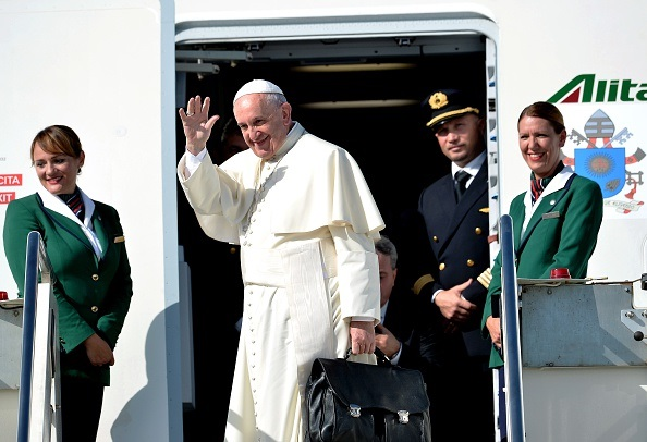 pope heading to Americas