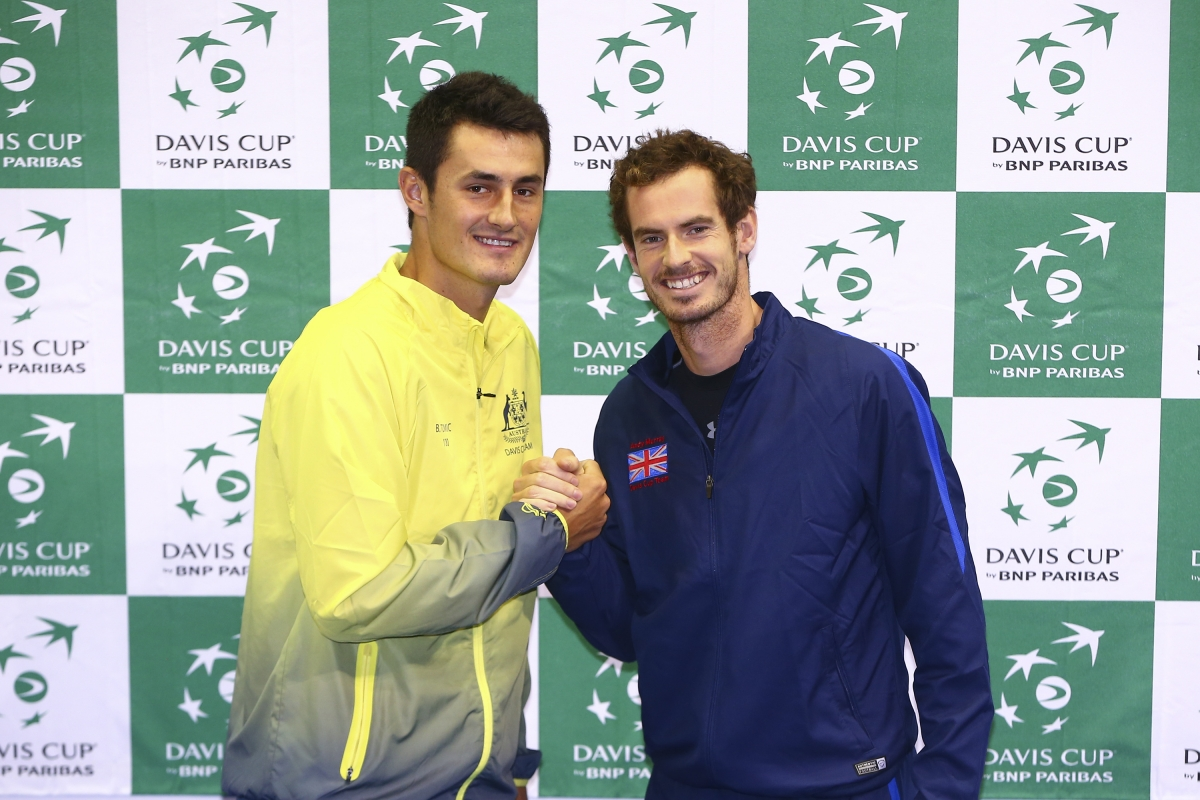 Andy Murray and Bernard Tomic