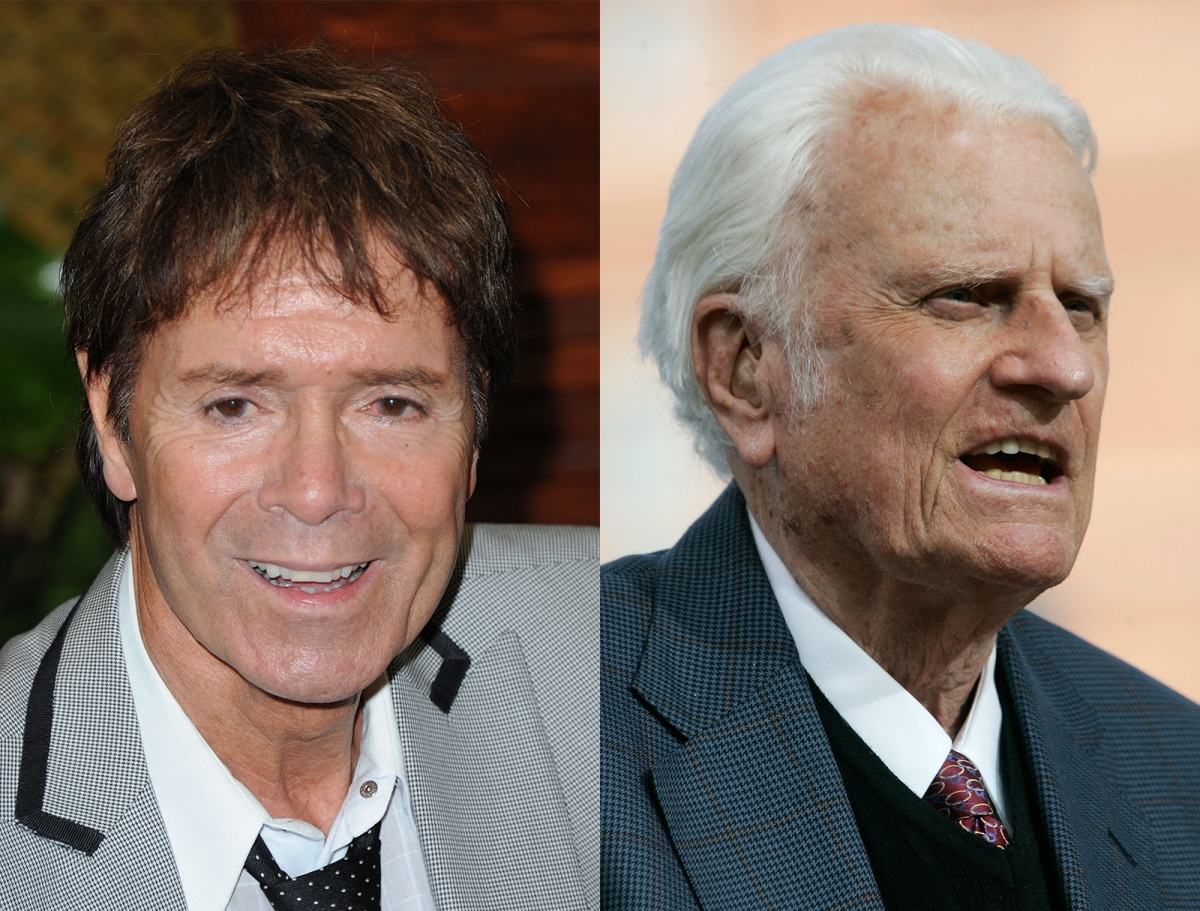 Cliff Richard Billy Graham