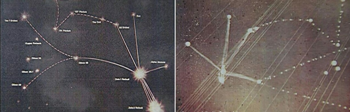 Alien Abduction Of Married Couple Proven By Star Map They Drew