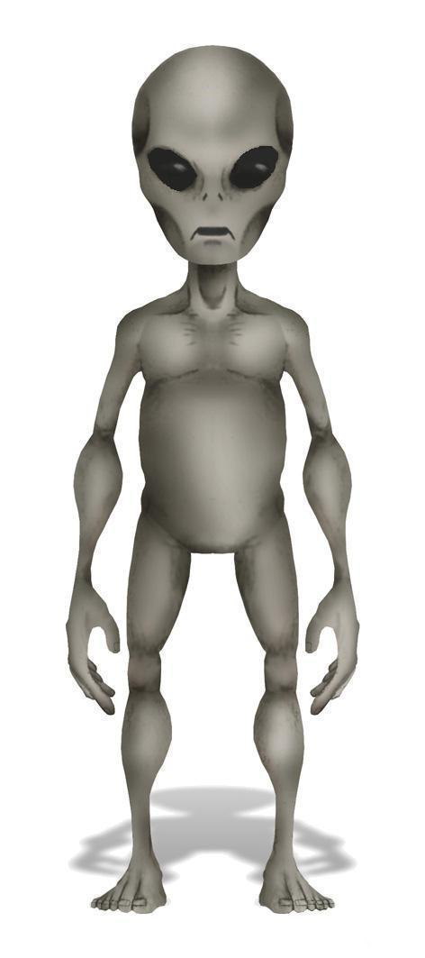 Grey alien Reticulan