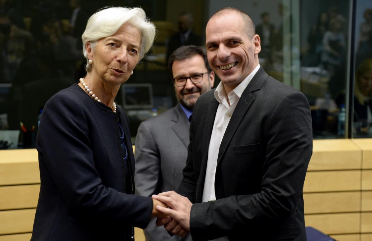 Lagarde and Varoufakis