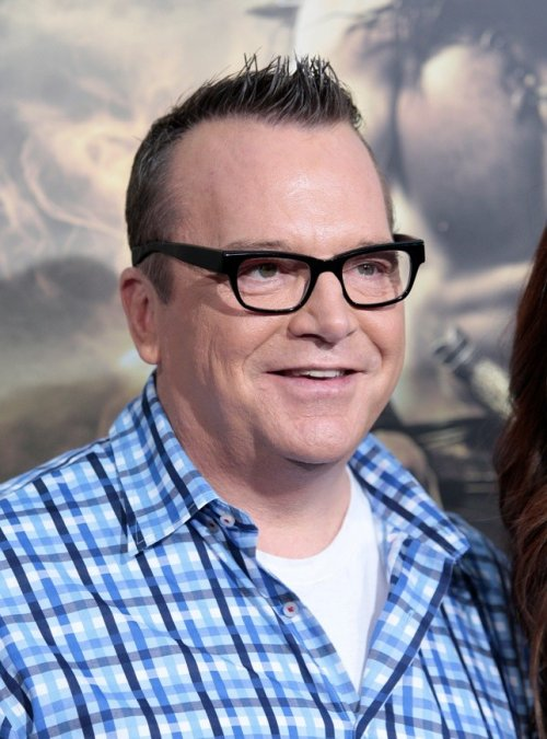 "Actor Tom Arnold arrives at the film premiere of ""Conan the Barbarian"" in Los Angeles, California"