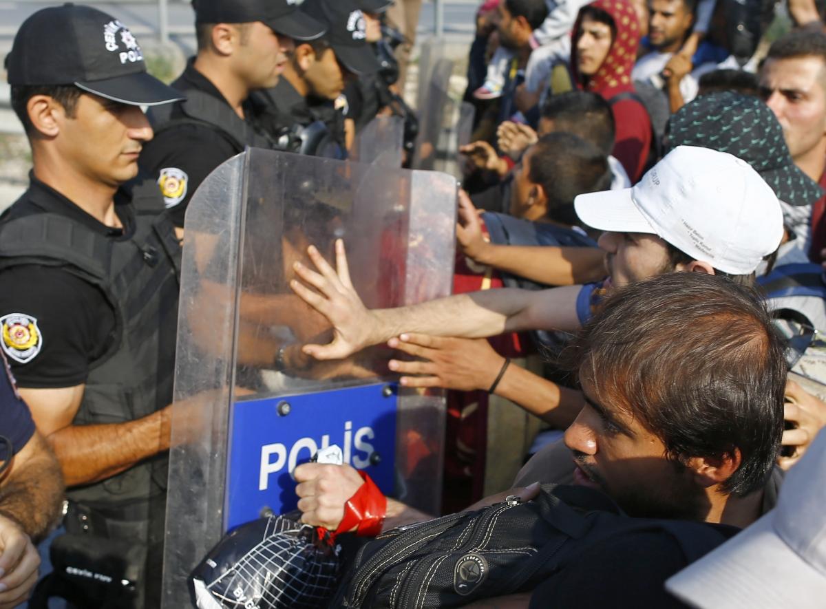 Syrian refugees Edirne Istanbul