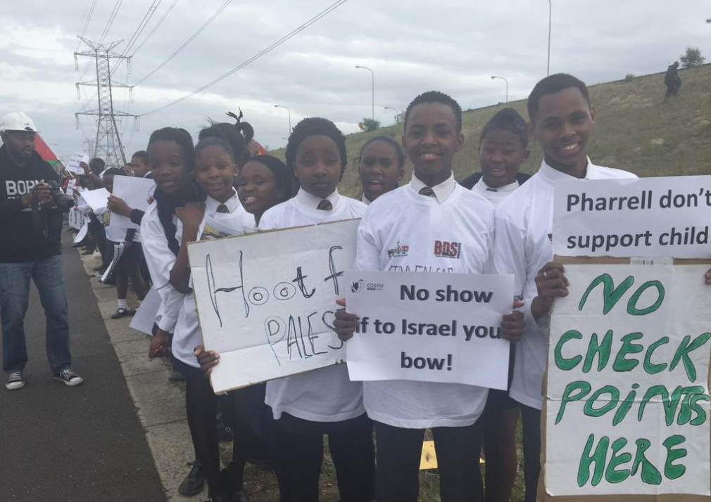 BDS South Africa supporters