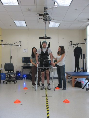 paralysed man walks