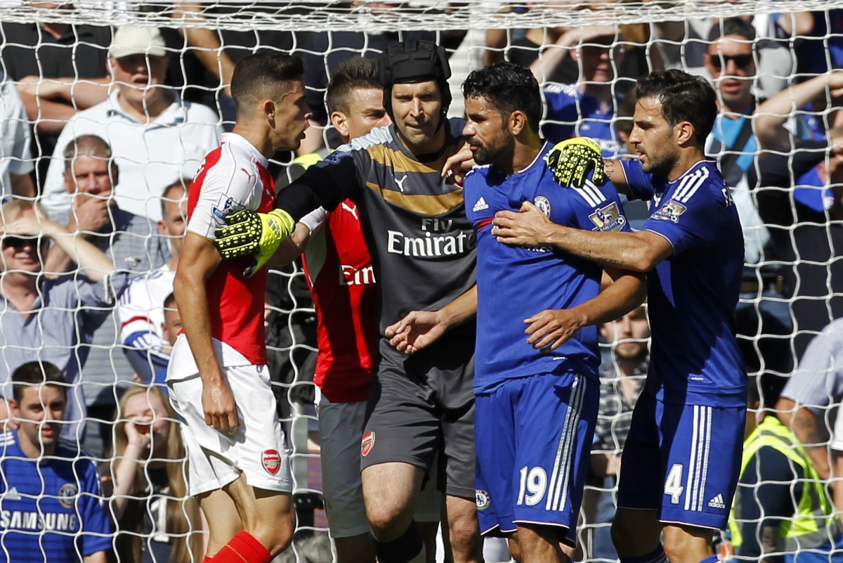 Diego Costa and Gabriel