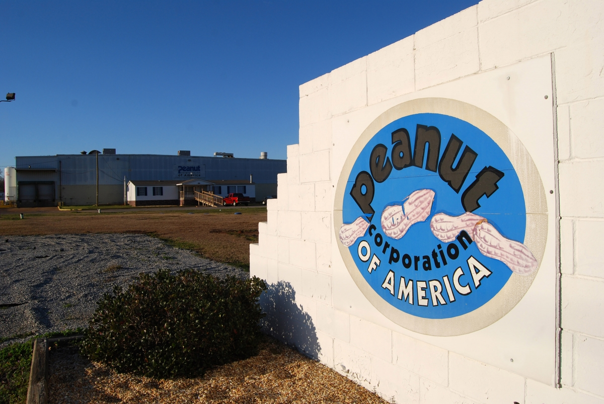 Peanut Corporation of America plant, Blakely