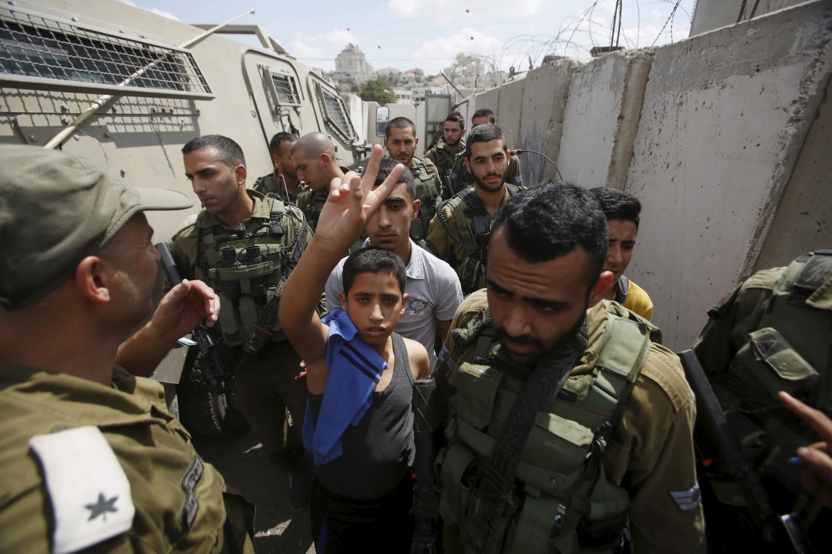 Hebron west bank tensions