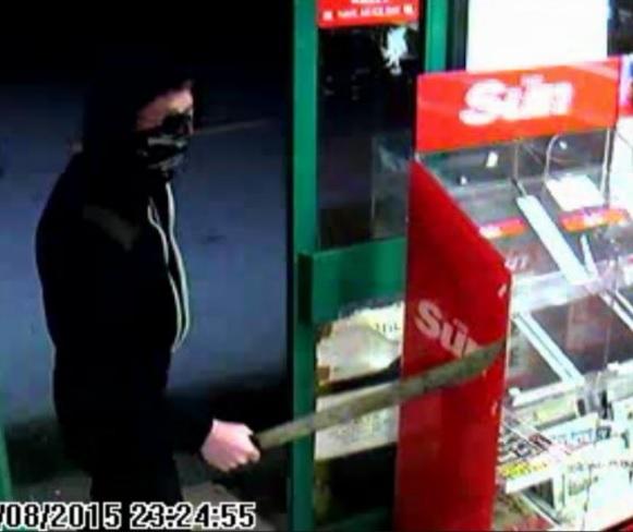 Birmingham machete robbery