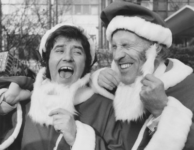 Jimmy Tarbuck and Bruce Forsythe