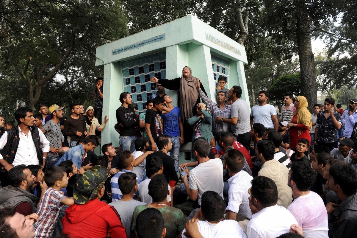 Migrants Edirne Turkey