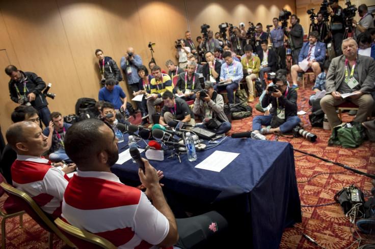 Japan press conference