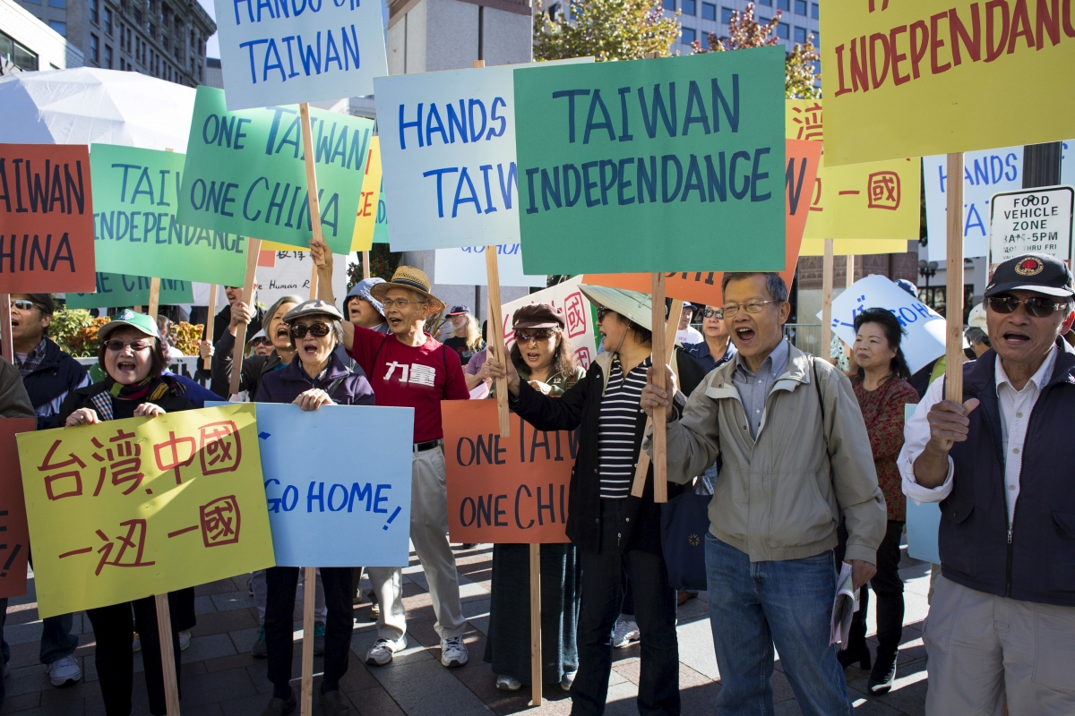 Taiwan independence rally, Seattle