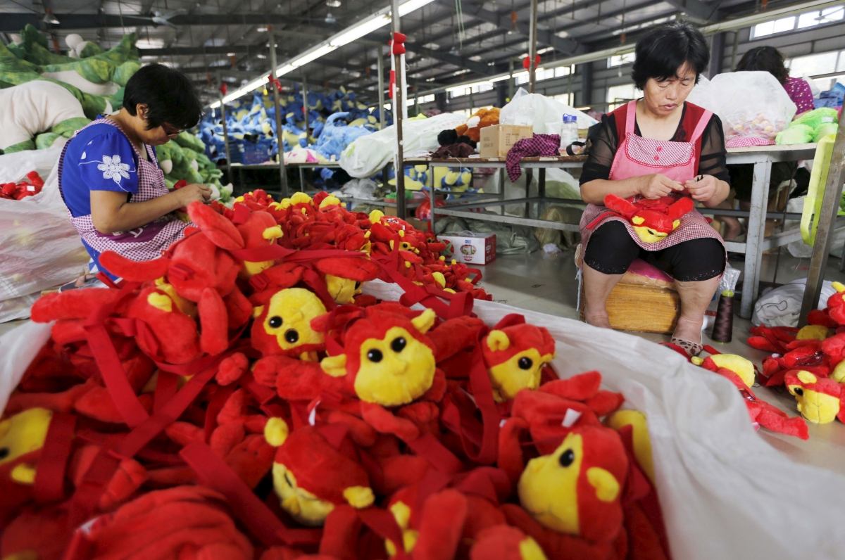 Toys factory, Lianyungang