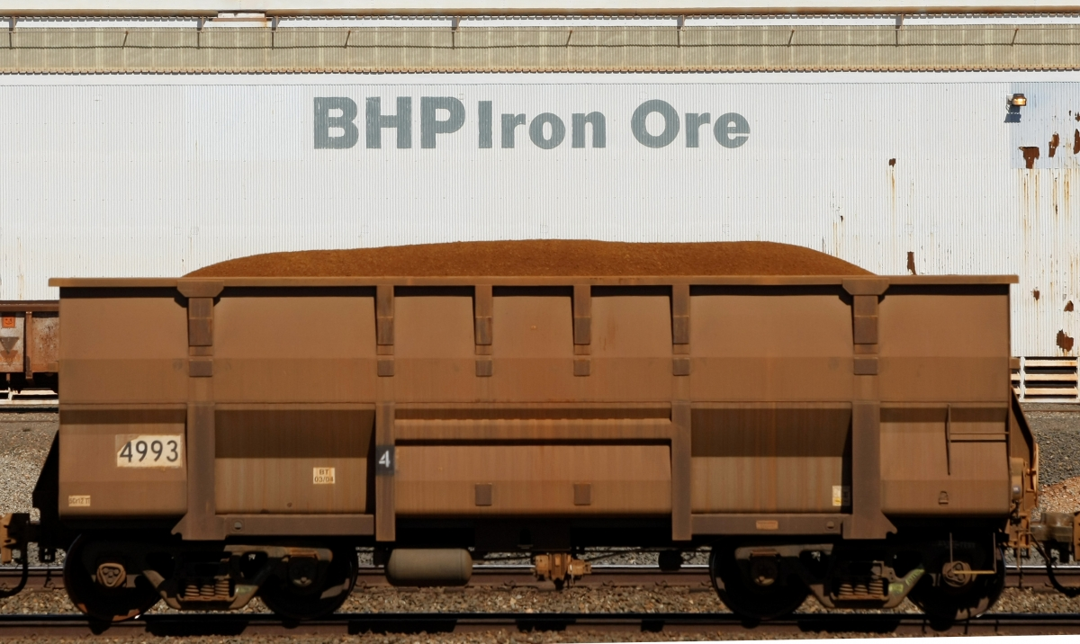 Iron ore train car, Port Hedland
