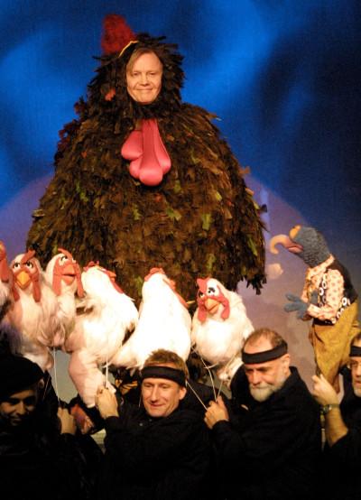 Jon Voight and Muppets