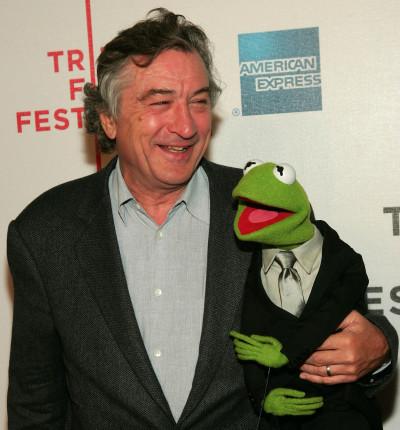 Robert De Niro and Kermit