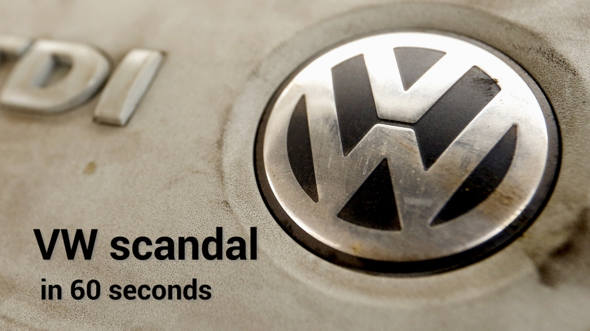 Vw Emissions Scandal Explained In 60 Seconds