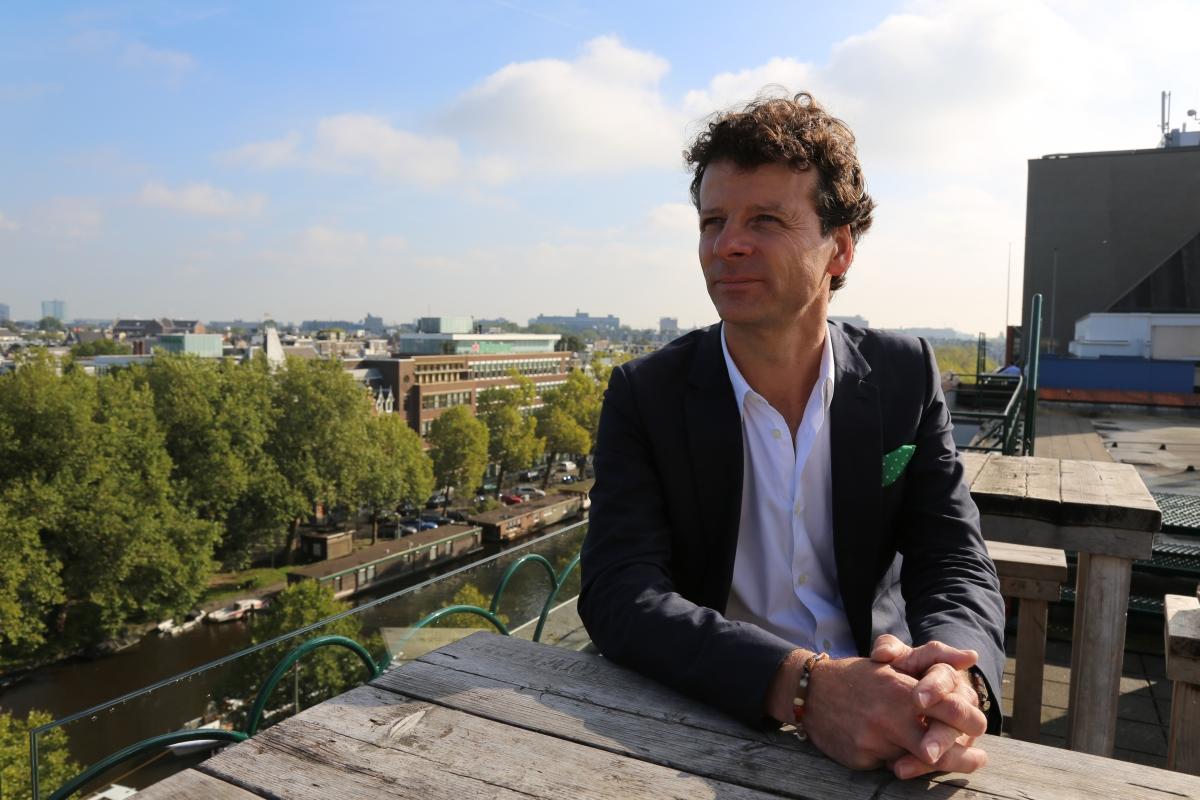 Heineken head of design Mark Van Iterson