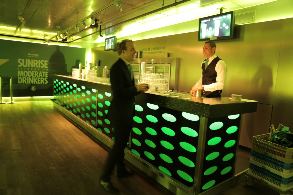 Binge drinking why heineken believes innovative designs can change british behaviour - Heineken amsterdam head office ...