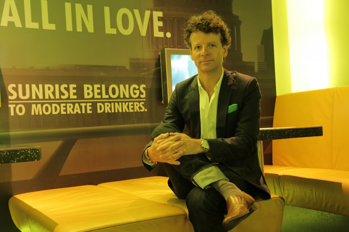 Heineken head of design Mark Van Iterson