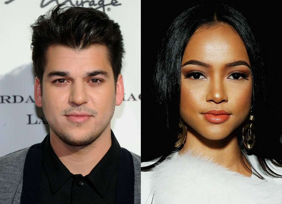 Rob Kardashian and Karrueche Tran