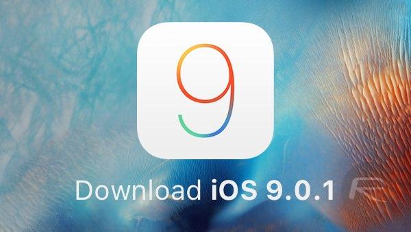 iOS 9.0.1 bug-fix update