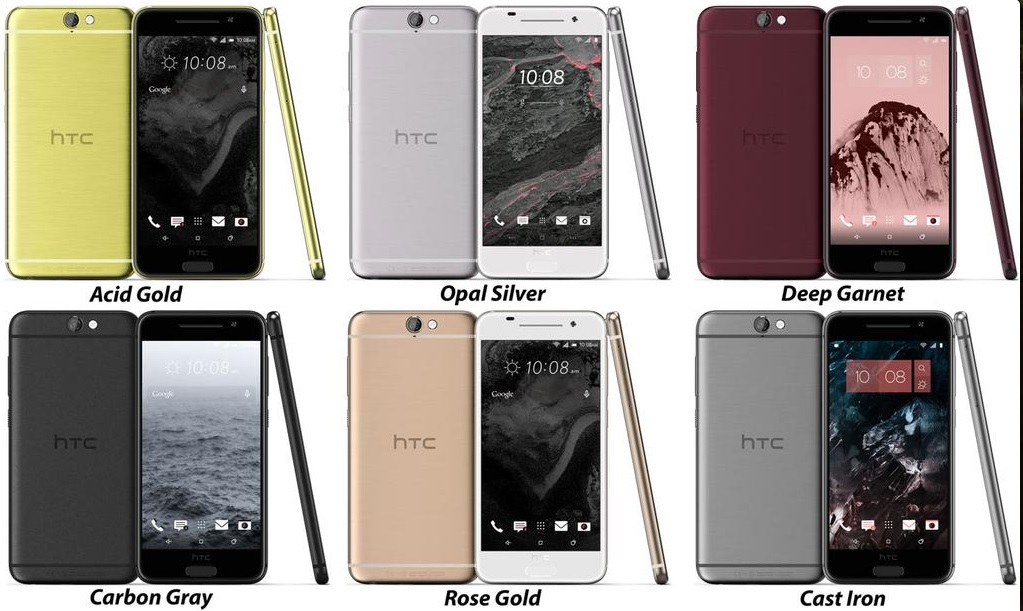 HTC One A9 Aero render leak